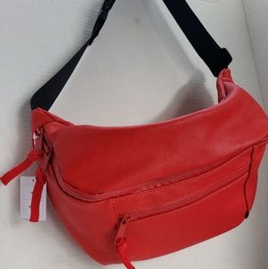 Urban outfitters XL red fanny pack/crossbody